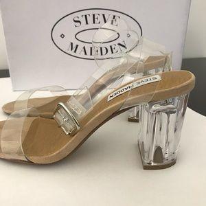 detallado más vendido comprar genuino Steve Madden Shoes   Clear Heels   Poshmark